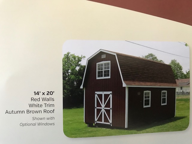 14x20 2 story barn