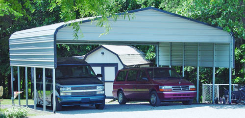 Carports garages for Triple carport prices