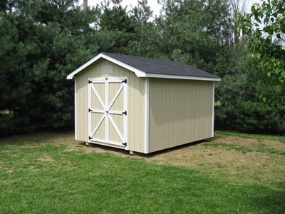 Prefab sheds nashville tuff shed door options for Pre built sheds