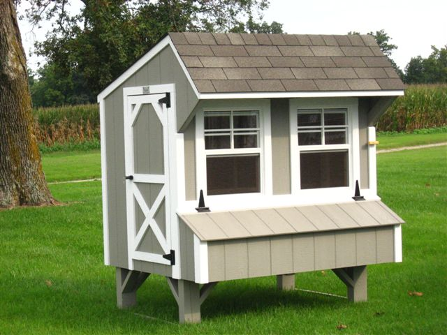 Pre-built Chicken Coops by Sheds Nashville