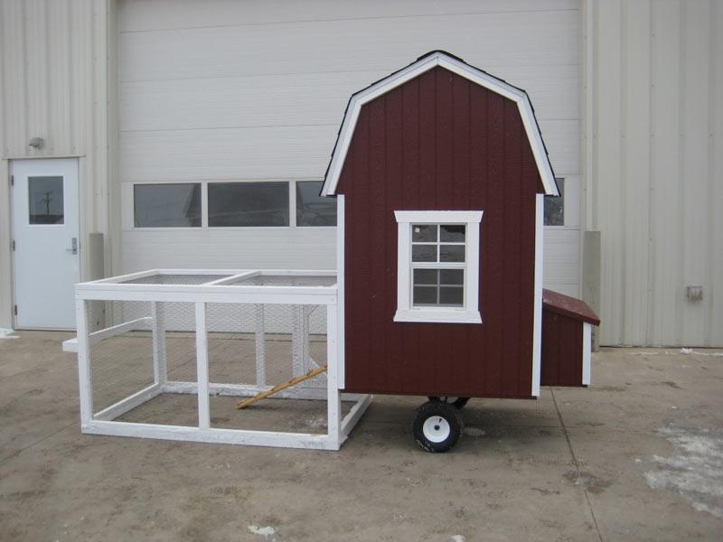 4x4 gambrel barn run chicken coop kit Gambrel garage kit