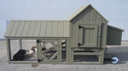 Berlin City Chicken Coop Kit