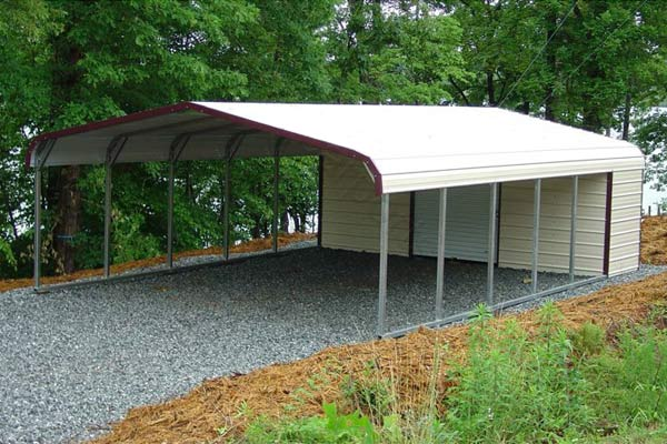 Sheds Nashville offers many different styles and sizes of carports and garages