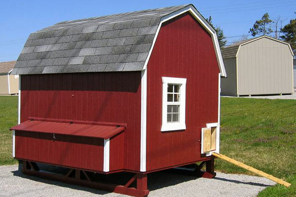 Sheds Nashville offers several types and sizes of chicken coops