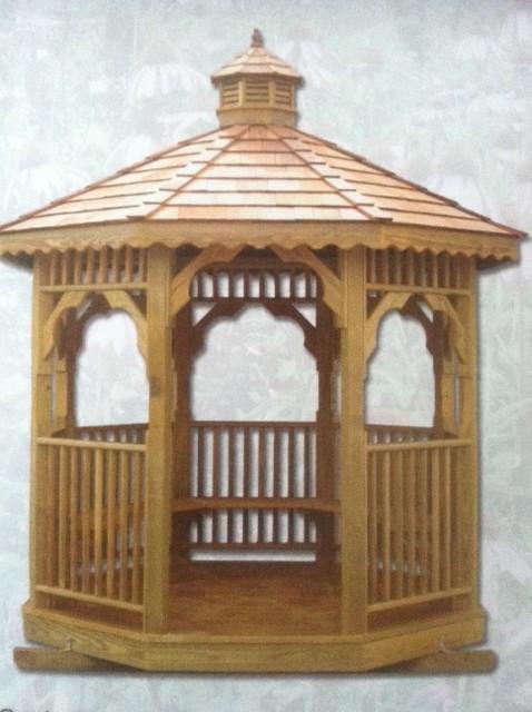 Wooden Octagon Gazebos | ShedsNashville.com