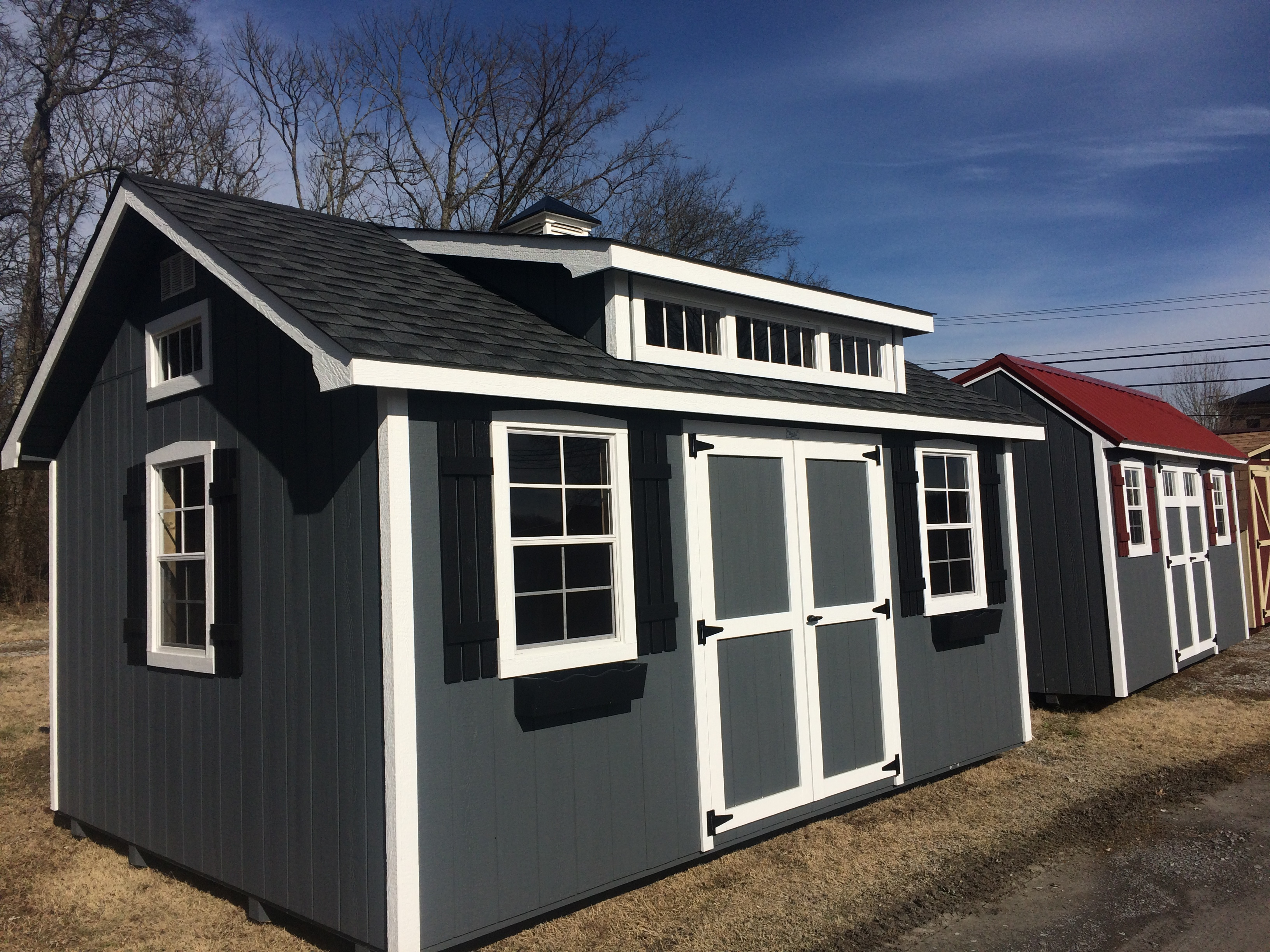 Outdoor sheds and storage buildings of nashville tn for Backyard garages