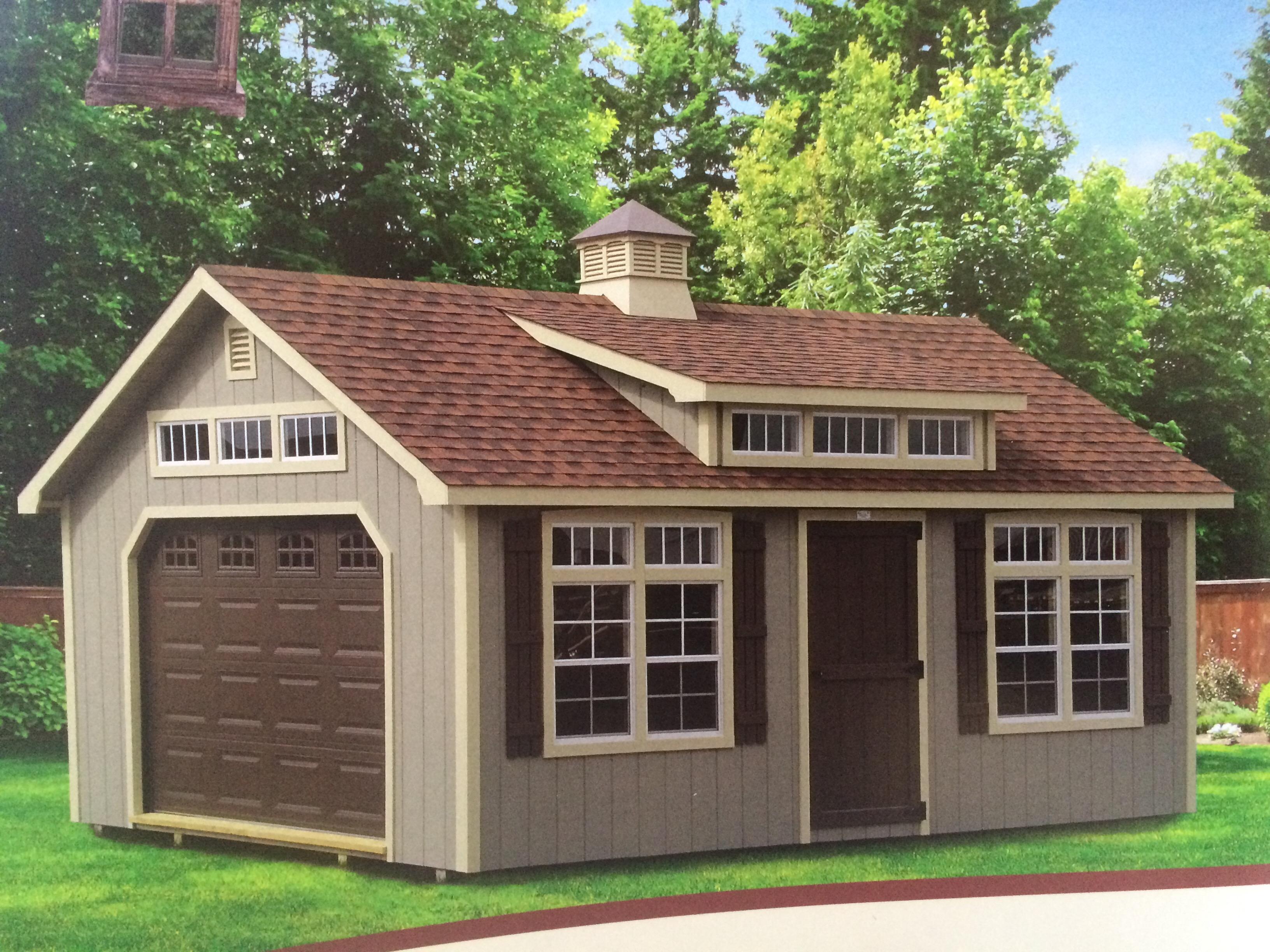 Garage Building An Excellent Home Design